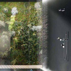 şık ve modern banyo dekorasyonu